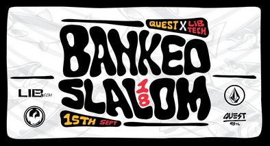 Quest X Lib Tech Banked Slalom 18