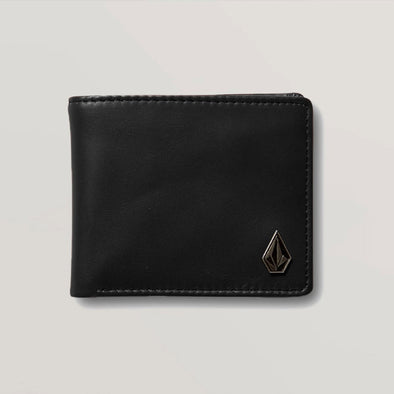 VOLCOM Single Stone Leather Wallet