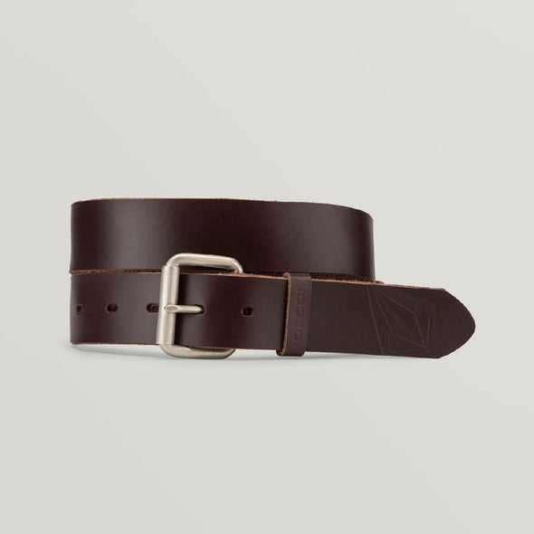 VOLCOM Straight Leather Belt