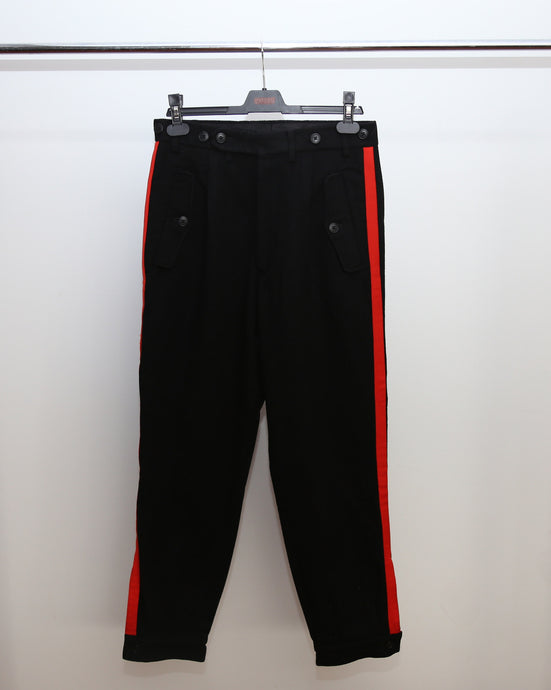 YYPH AW2001 RED STRIPE TROUSERS 2