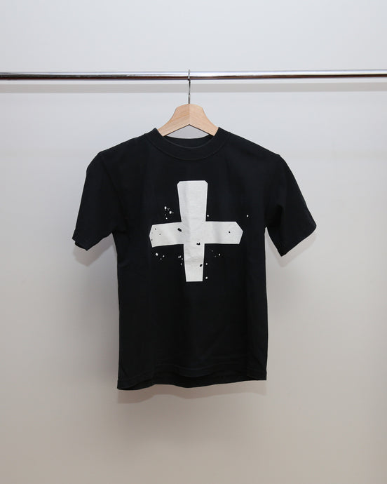 UNDERCOVER LABORATORIES WHITE CROSS TEE S
