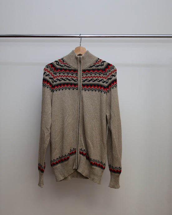 MICHAEL BASTIAN SS15 ZIP UP KNIT 50