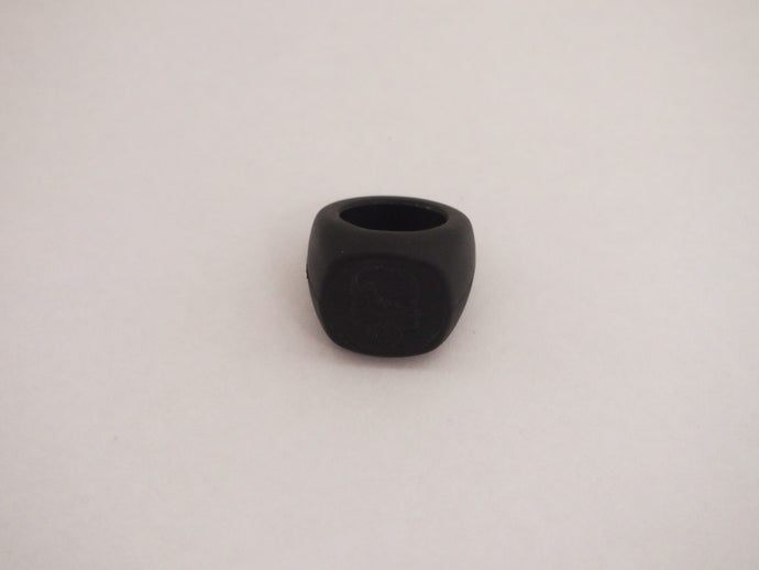 Number (N)ine Black Rubber Ring AW05