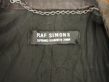 Raf Simons One Button Cotton Blazer SS00 46