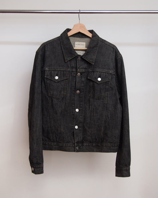 Helmut Lang Classic Black Denim Jacket 1998 50