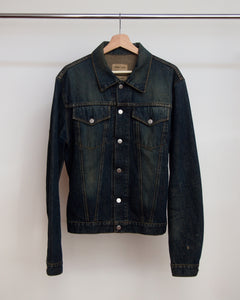 Helmut Lang Slim 2 Pocket Denim Jacket 1998 52