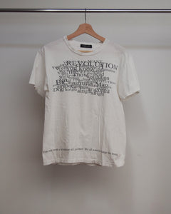 Undercover 90's 'The Beatles' Lyrics Tee