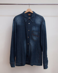 W&LT Denim Shirt L