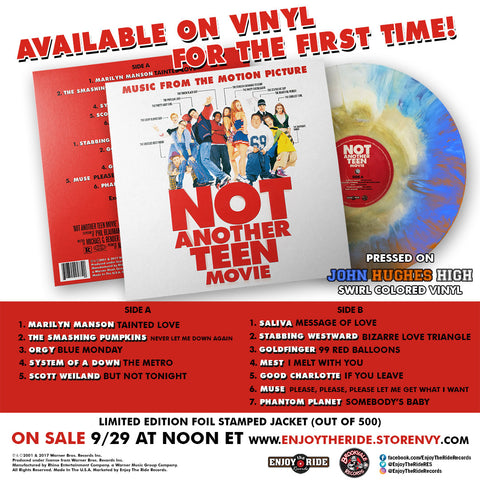 Enjoy The Ride Records Is Proud To Announce Release Of Not Another Teen Movie Original Motion Picture Soundtrack On Vinyl For First Time