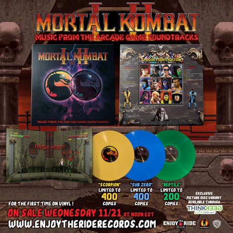 Mortal Kombat I and II - Music From The Arcade Game