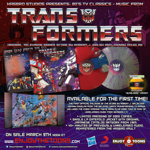 Transformers Original Television Series Score - On Sale Friday