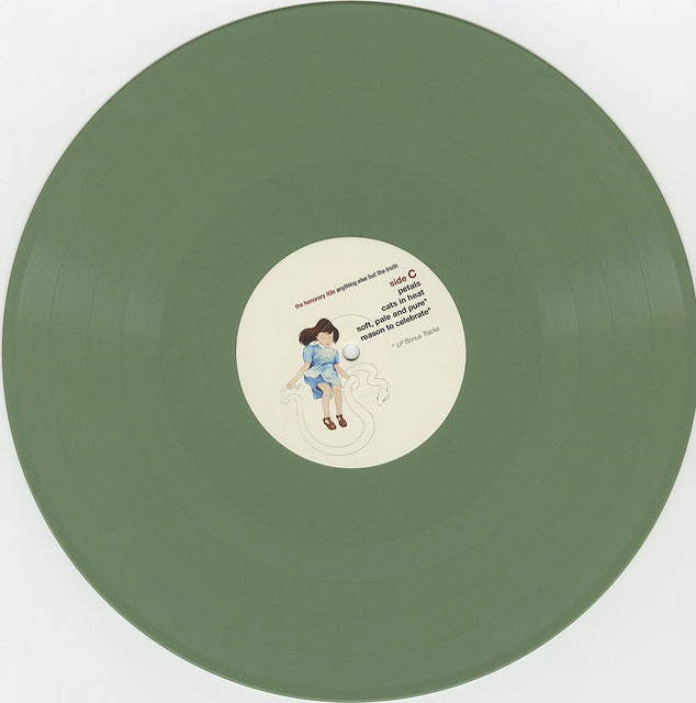 THE HONORARY TITLE- ANYTHING ELSE BUT THE TRUTH 2xLP (ETR046)