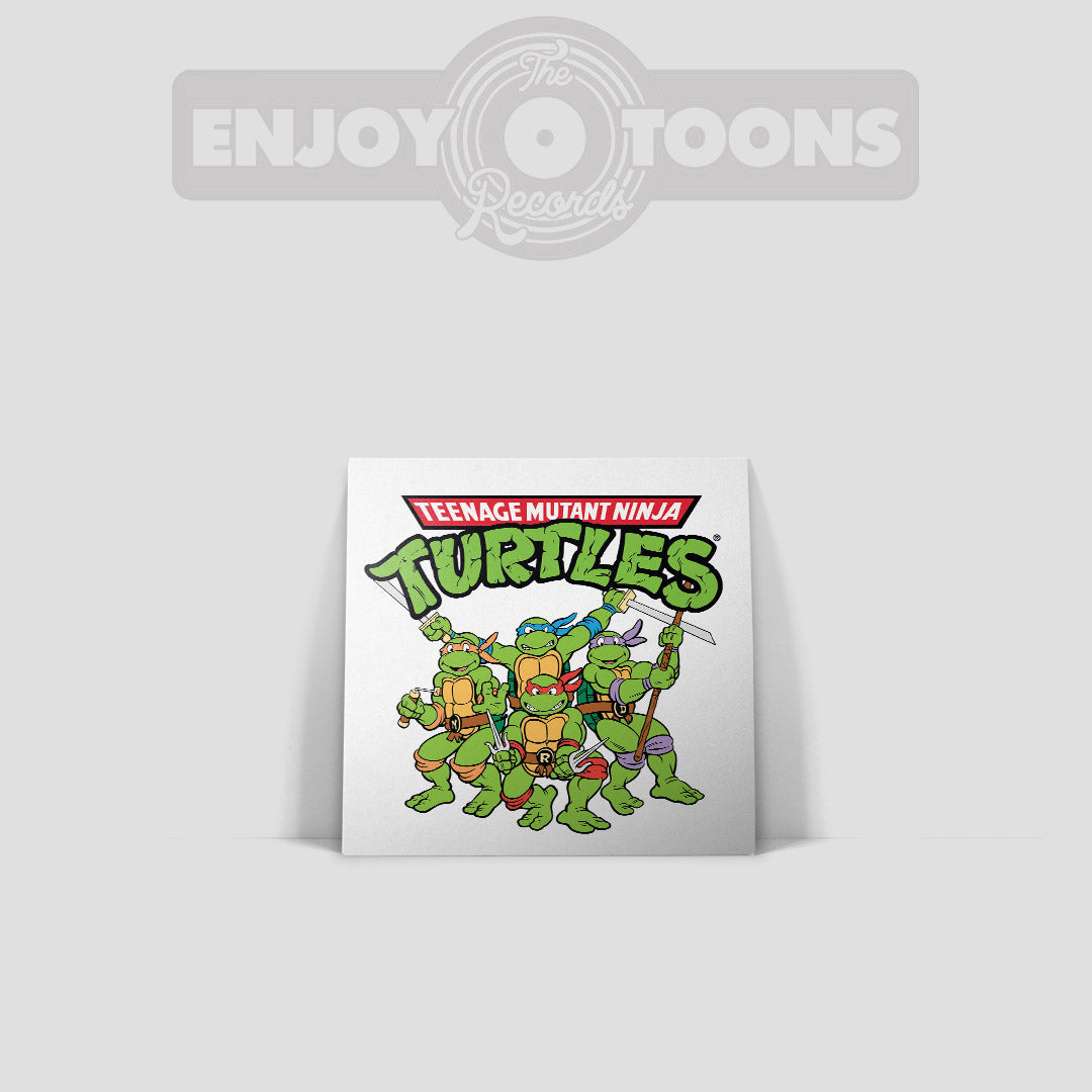 "LET'S KICK SHELL! Teenage Mutant Ninja Turtles 7"" Tribute (ETT004)"