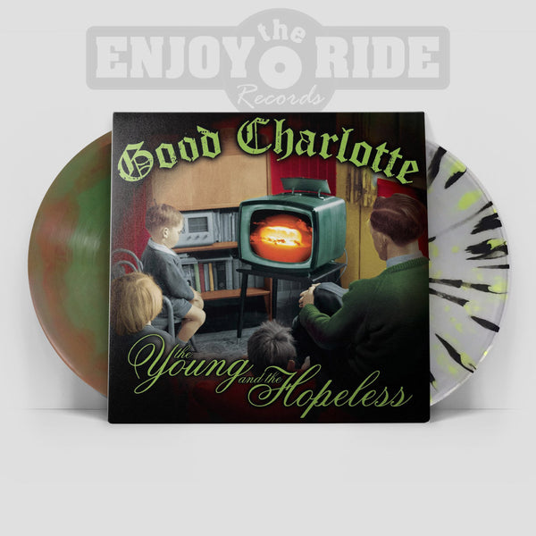 GOOD CHARLOTTE- THE YOUNG AND THE HOPELESS - 2nd Pressing (ETR032)
