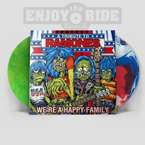 A TRIBUTE TO RAMONES- WE'RE A HAPPY FAMILY 2xLP (ETR055)