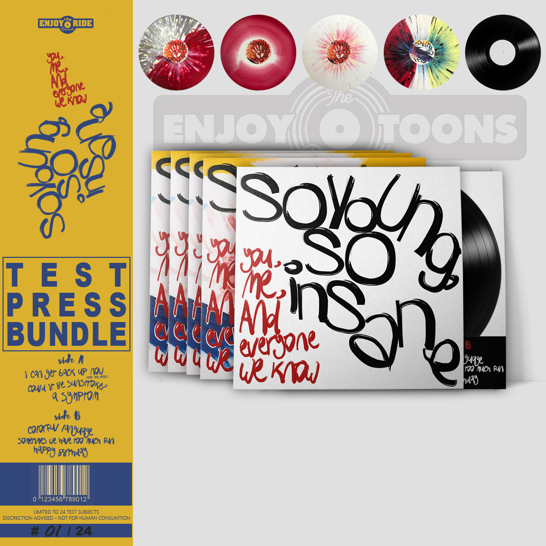 YMAEWK So Young So Insane TEST PRESS BUNDLE (ETR058)