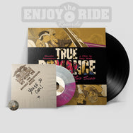 "True Romance Black Vinyl JUKEBOX 7"" BUNDLE with Alternate Artwork 7"" & Adapter (Limited to 100 total copies )"