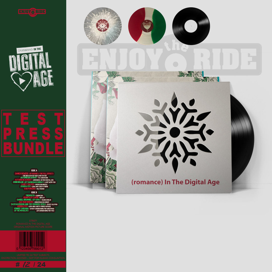 Romance In The Digital Age TEST PRESS BUNDLE