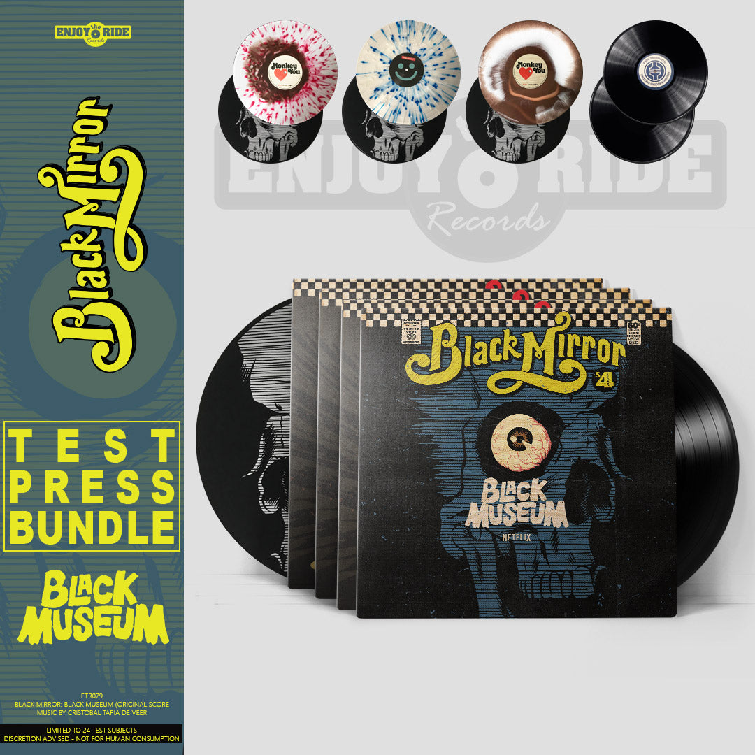 Black Mirror Black Museum TEST PRESS BUNDLE