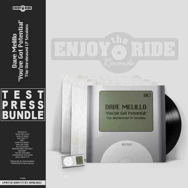 Dave Melillo - You've Got Potential TEST PRESS BUNDLE