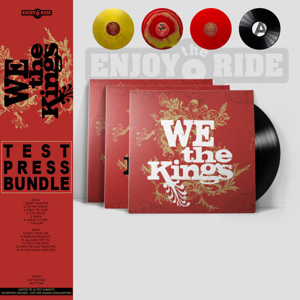 We The Kings TEST PRESS BUNDLE