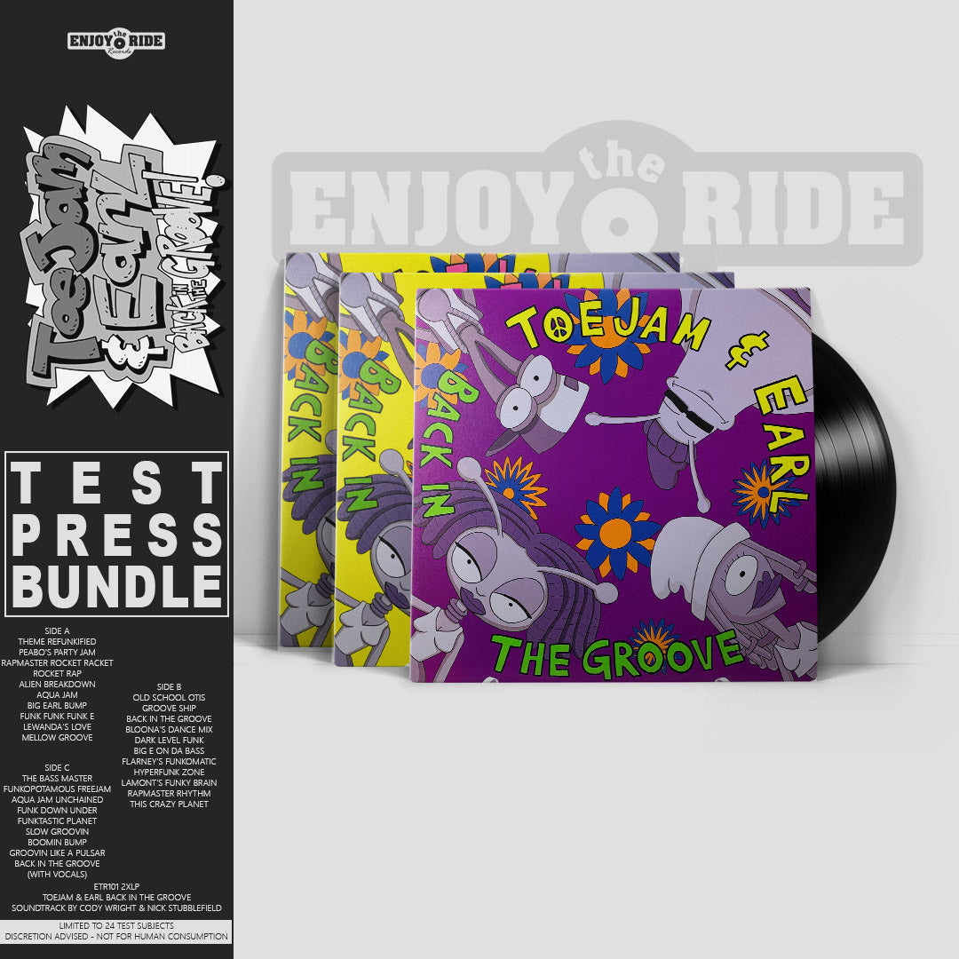 Toe Jam & Earl TEST PRESS BUNDLE