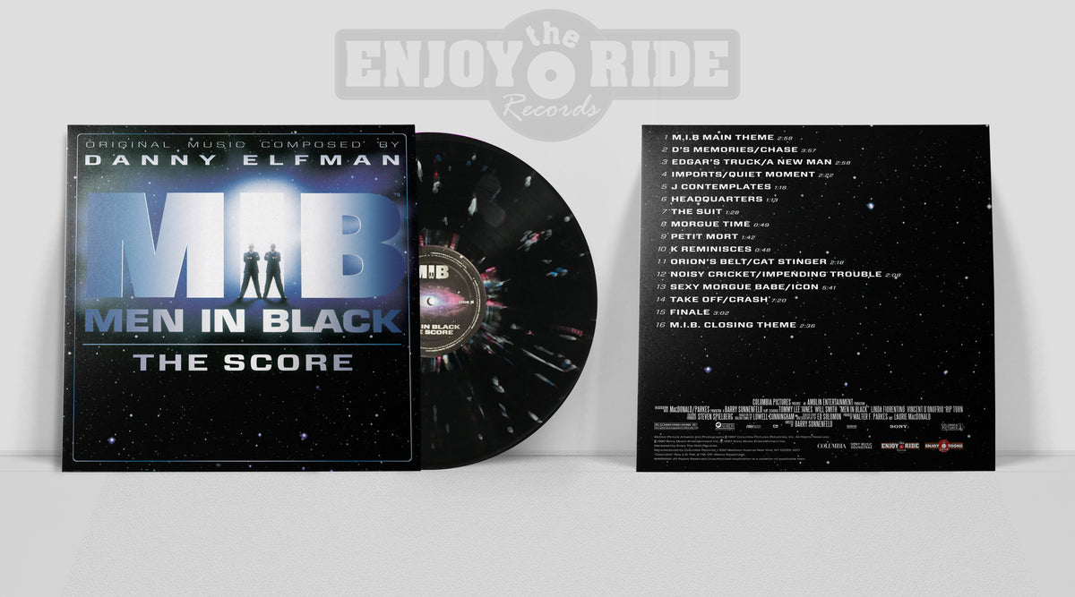 MEN IN BLACK: THE SCORE 20th Anniversary Vinyl Reissue (ETT013/ETR068)