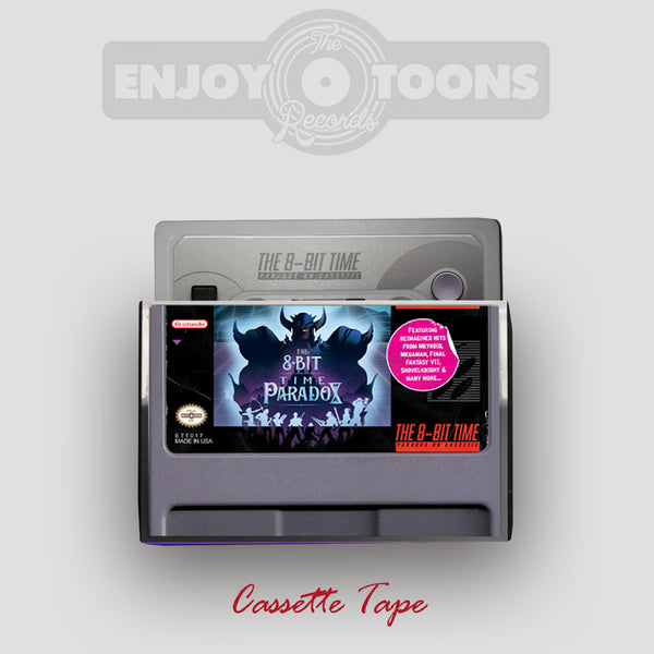 THE 8 BIT TIME PARADOX (ETT017) Cartridge Grey Cassette Tape