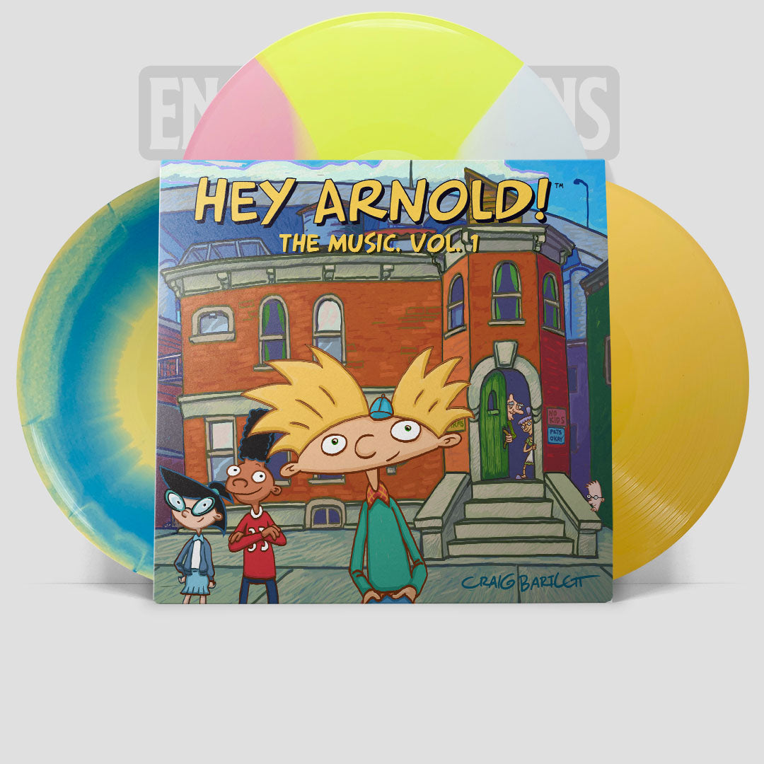 Hey Arnold The Music Vol 1 By Jim Lang (ETT021)