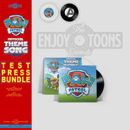 "Paw Patrol Official Theme Song & More 7"" (ETT022)"