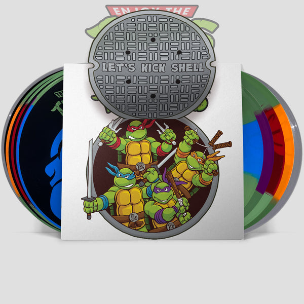 "Teenage Mutant Ninja Turtles- Lets Kick Shell! 12"" Deluxe TRIBUTE (ETT026)"