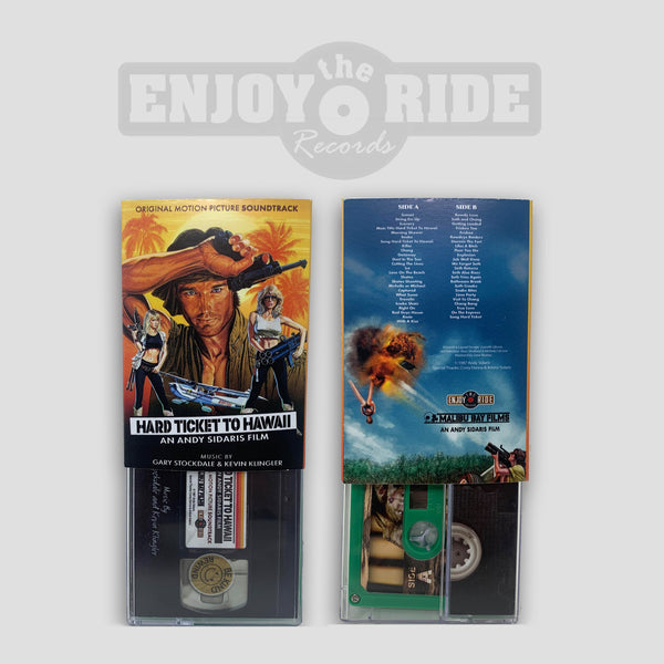 Hard Ticket To Hawaii Soundtrack CASSETTE Tape (ETR117C)