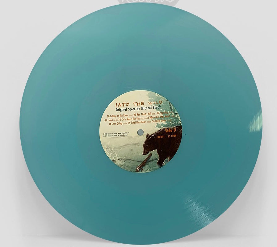 Into The Wild Score TEST PRESS BUNDLE
