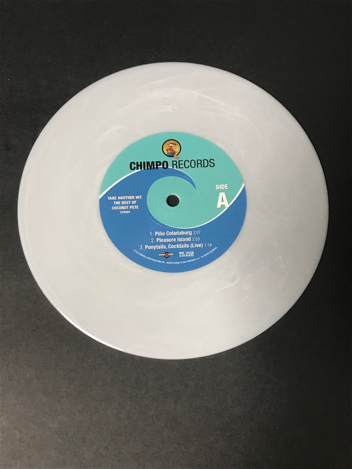 "The Best of Coconut Pete: Take Another Hit 7"" (ETR065)"