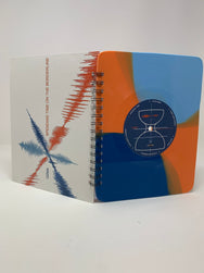 Repurposed Vinyl Lp Spiral Notebook
