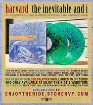 HARVARD- THE INEVITABLE AND I -Vinyl Re-Issue (2xLP w/DVD) (ETR001)