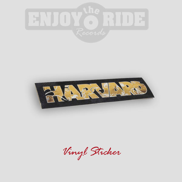 Harvard Vinyl Sticker