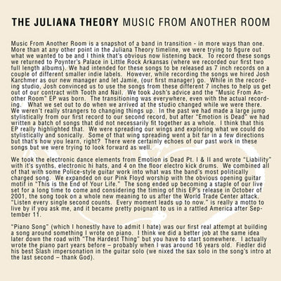 The Juliana Theory - Music From Another Room (#ETR002)