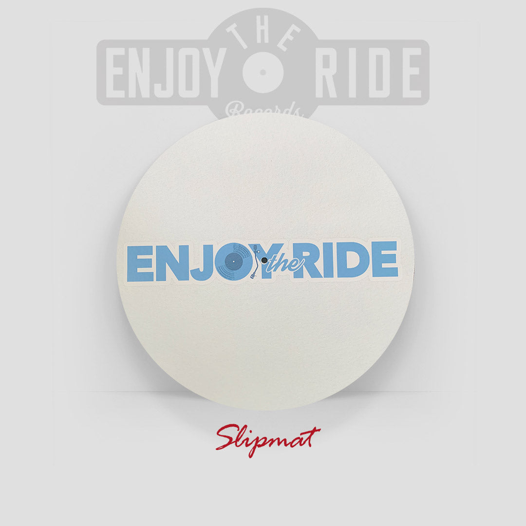 "12"" Enjoy The Ride ""Fashion Logo"" Slipmat"