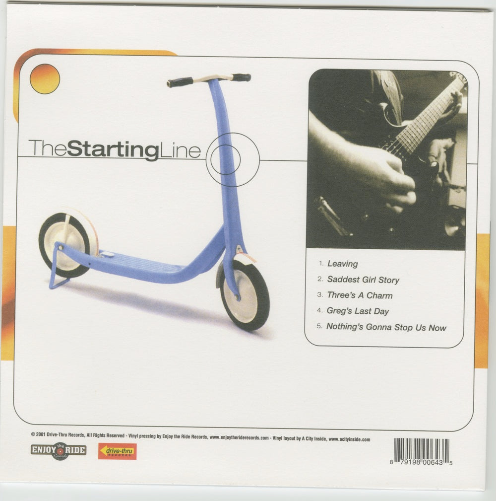THE STARTING LINE- WITH HOPES OF STARTING OVER (ETR005)