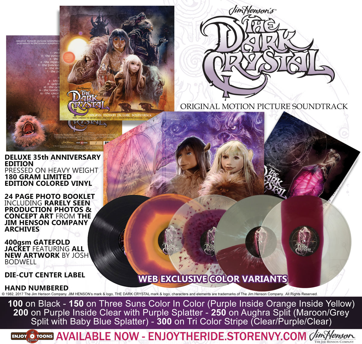The Dark Crystal- Deluxe Edition (ETT015)
