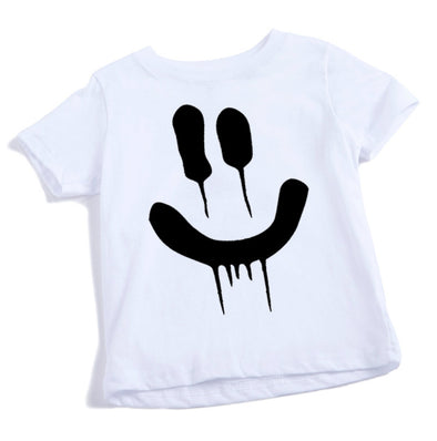 DRIP INFANT SHORT SLEEVE TEE (White)