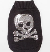 Dog 100% wool Skull Sweater