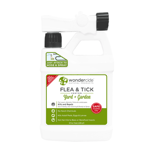 FLEA & TICK | Ready-to-Use Natural Outdoor Flea, Tick & Mosquito Control for Yard + Garden