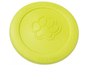 Zisc Flying Disc in Lime Green 8""