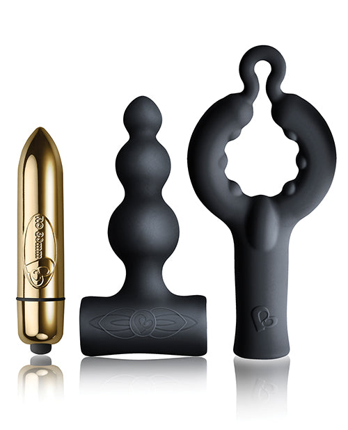 Rocks Off Dark Desires Be Mine Kit - Black-champagne Gold