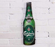 Beer Shaped Wall Bottle Opener