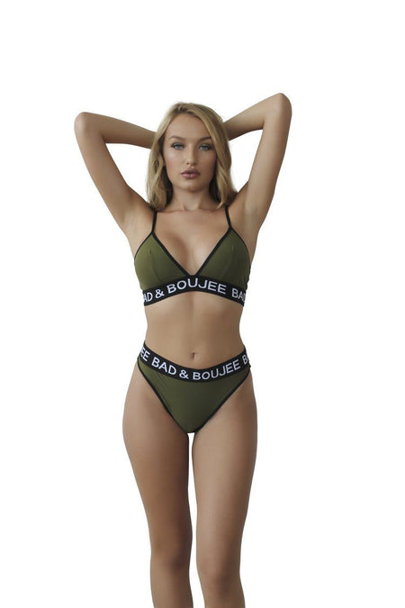 2 piece triangle set Green