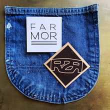 FARMOR DENIM HALF APRON