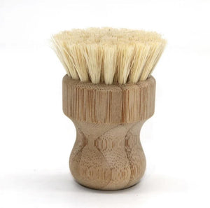 Bamboo Soft Bristle Pot Scrubber